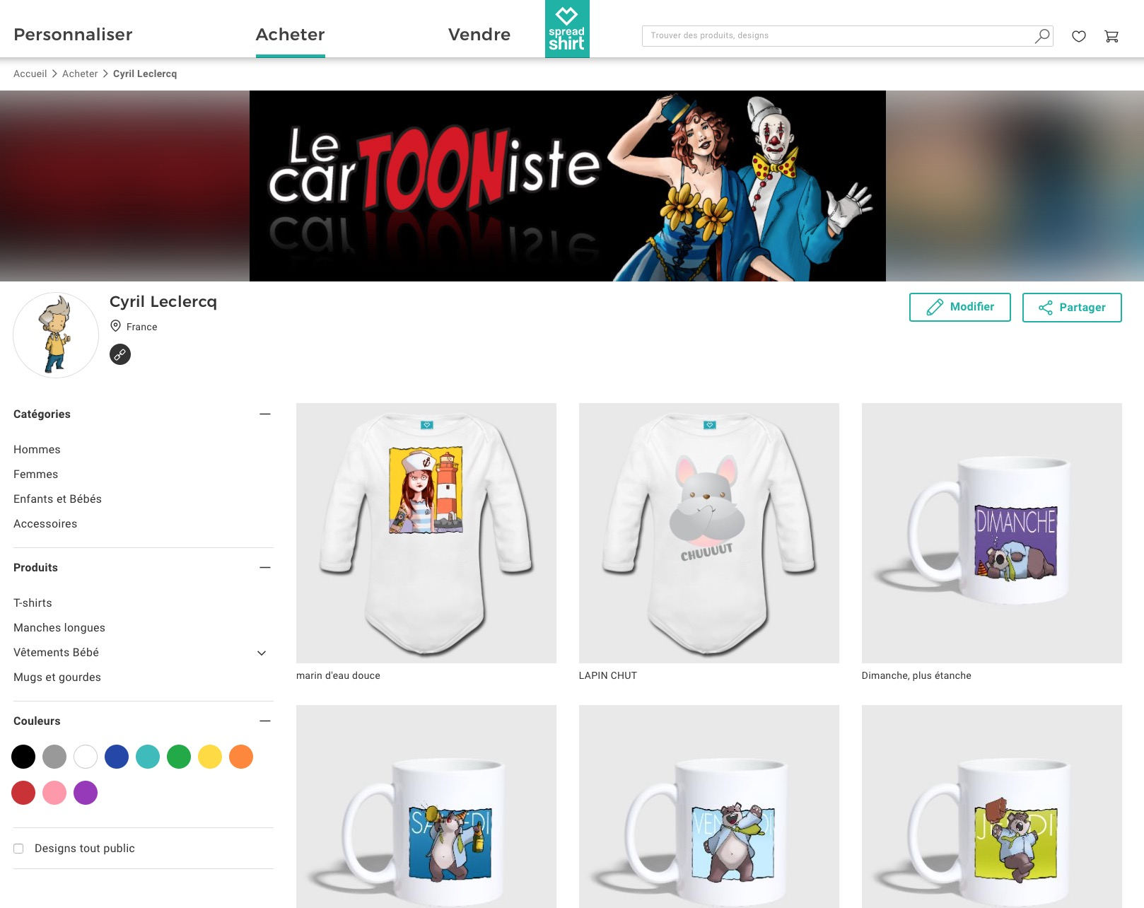 Ma boutique spreadshirt